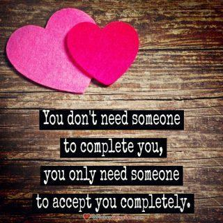 Accept You Completely