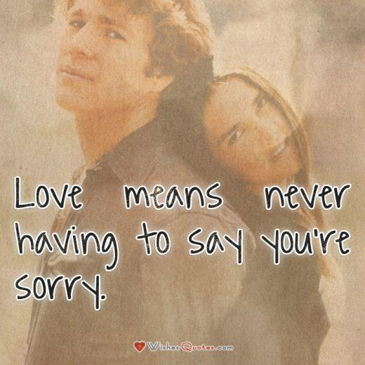 Love Story Love Quotes From Movies