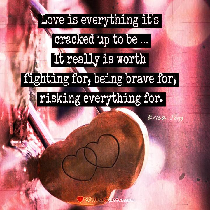 Love is everything it's cracked up to be