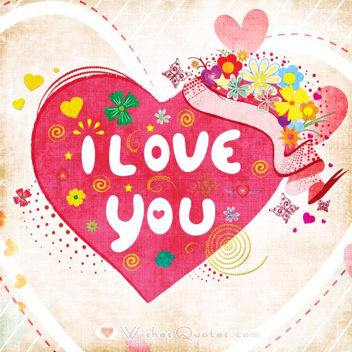 I love you cards for Love quotes for card