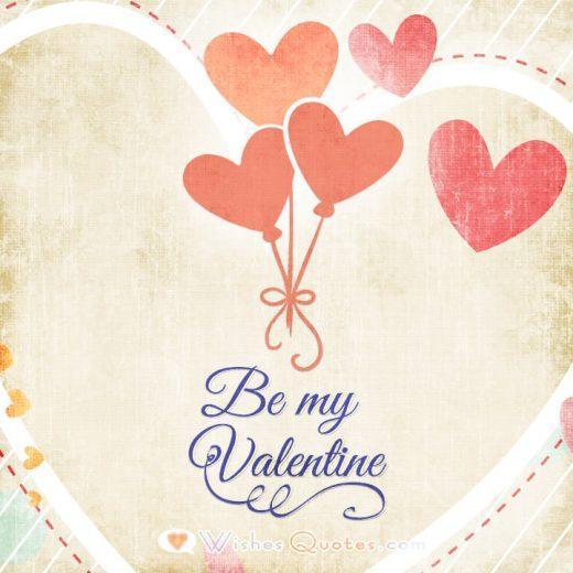 Be My Valentine Card 4
