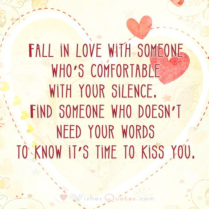 Time To Kiss You True Love Quotes