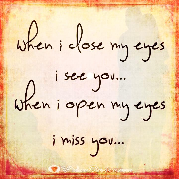 "Missing You Love Quotes For Her Inspiration I Miss You"" Quotes"