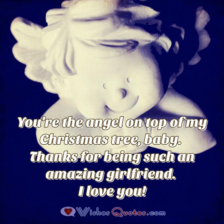 Christmas Love Wishes for Girlfriend