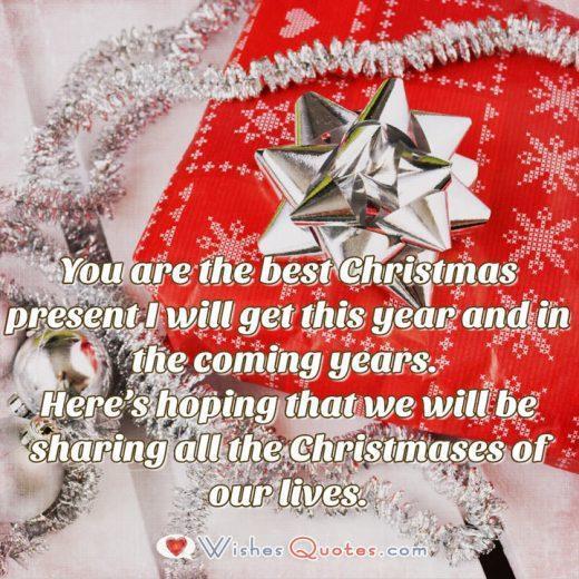 Christmas Love Message for Boyfriend