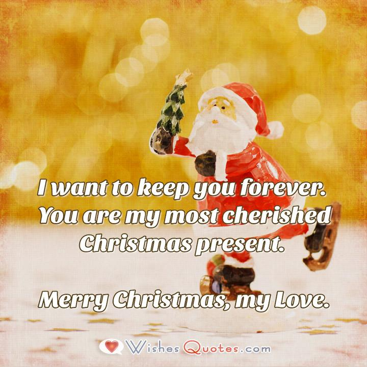 Sweet Christmas Love Message