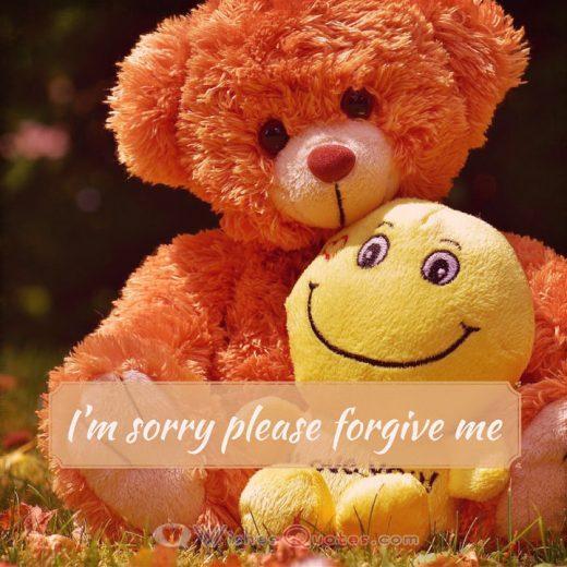 Iam Sorry