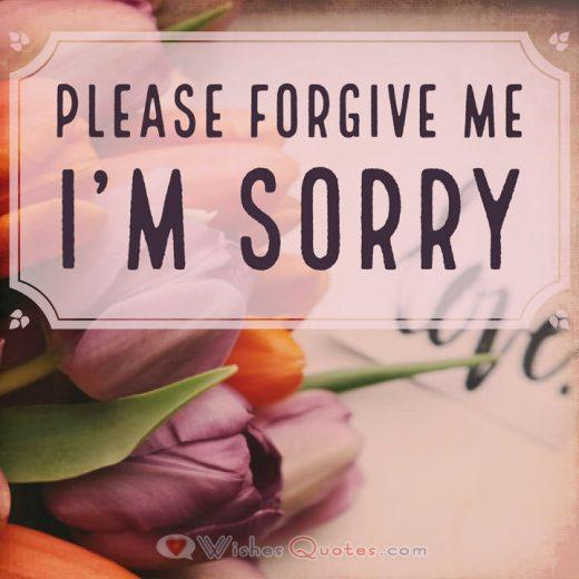 Apology Letter for your Girlfriend: Please forgive me, I'm Sorry