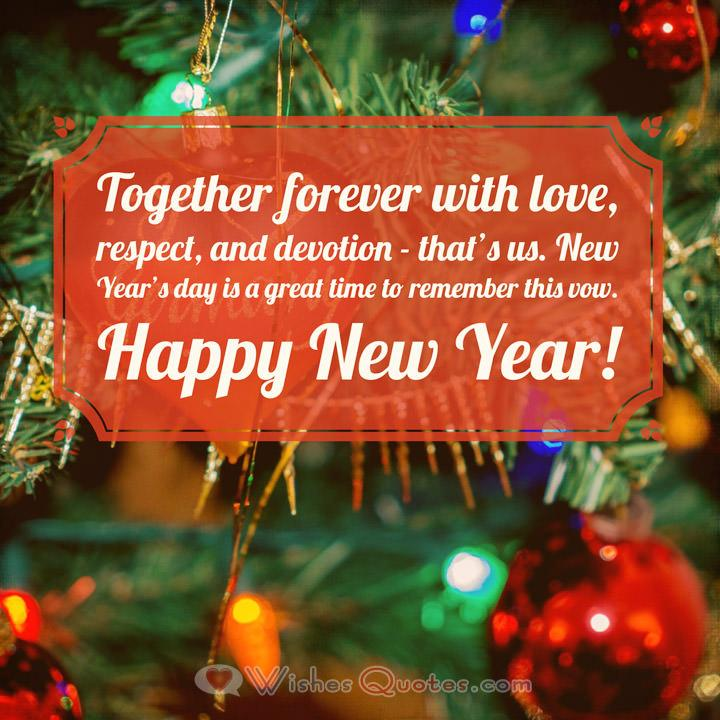 romantic new year wish for your sweetheart romantic new year messages for your love