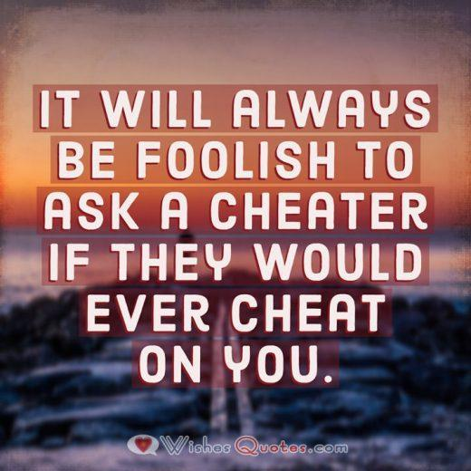 Cheating Messages Ask A Cheater
