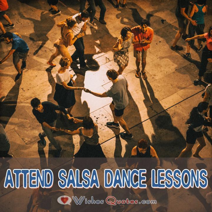 First Date Ideas Attend Salsa Dance Lessons