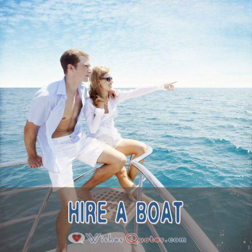 First Date Ideas Hire A Boat