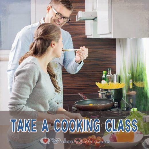 First Date Ideas Take A Cooking Class