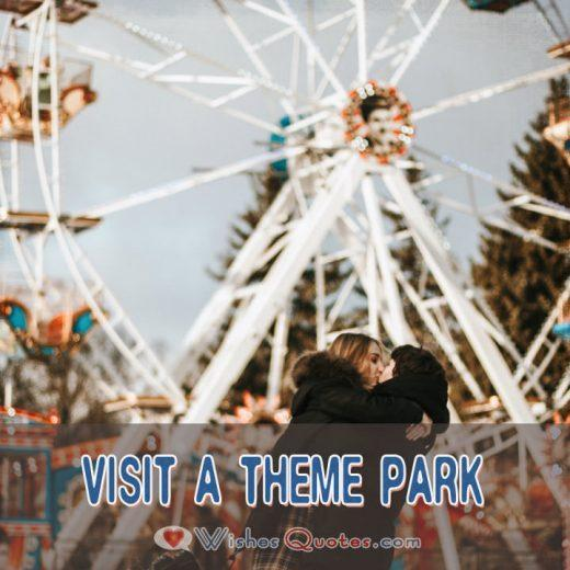 First Date Ideas Visit A Theme Park