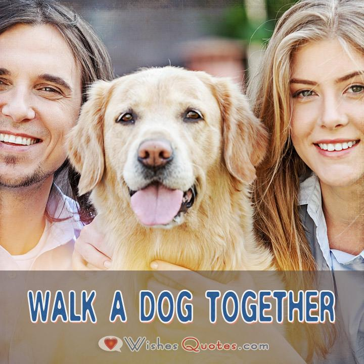 First Date Ideas Walk A Dog Together