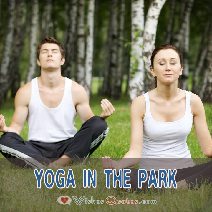 First Date Ideas Yoga In The Park